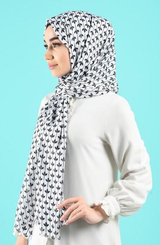 White Sjaal 850-114