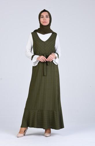 Robe Hijab Khaki 6574-02