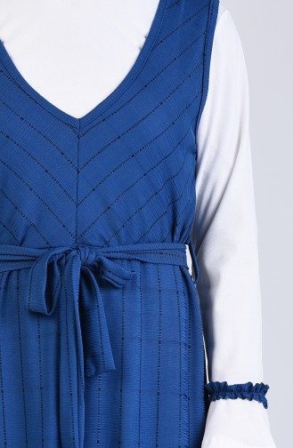 Robe Hijab Indigo 6574-03
