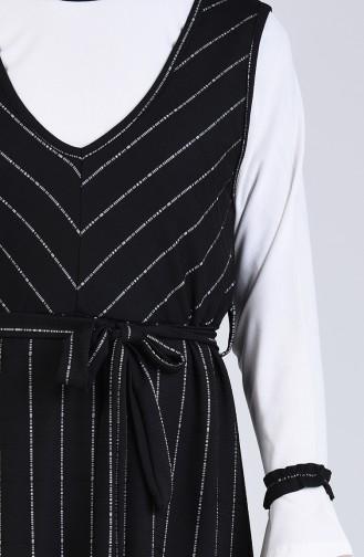 Robe Hijab Noir 6574-04
