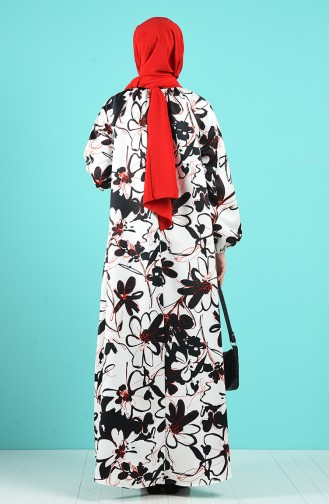 Robe Hijab Noir 3183-01
