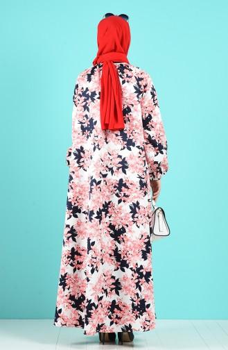 Robe Hijab Rouge 3186-01