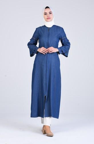 Navy Blue Abaya 9277-02