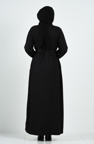 Abayas Noir 4038-01