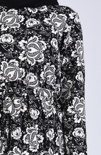 Robe Hijab Noir 5708M-01
