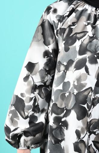 Schwarz Hijap Kleider 3182-01