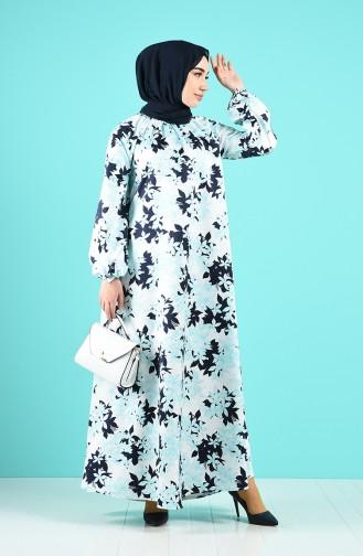 Robe Hijab Vert 3186-02