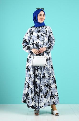 Robe Hijab Blue roi 3186-03