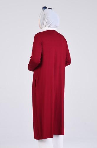 Claret red Tuniek 1554-04