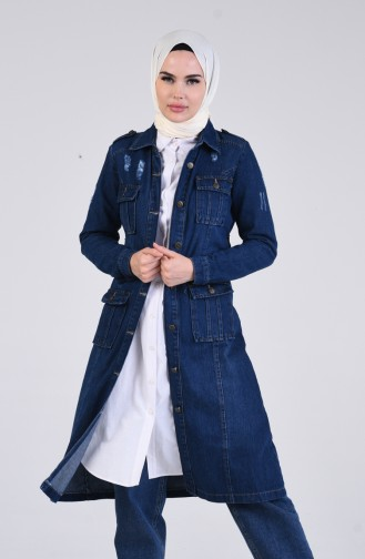 Veste Bleu Marine 6083-02