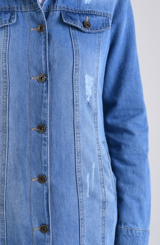 Jeans Blue Topcoat 9290-02