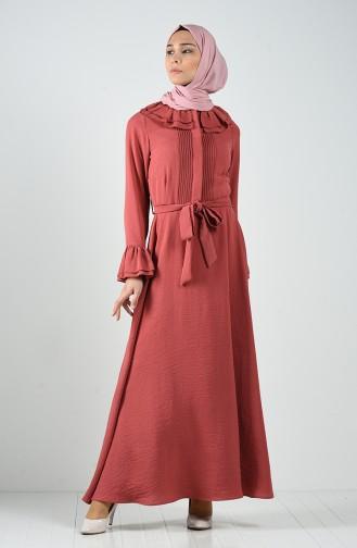 Ribbed Dress 3091-03 Dry Rose 3091-03