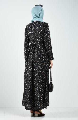فستان أسود 8070-02