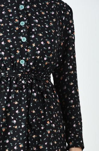 Robe Hijab Noir 8070-02