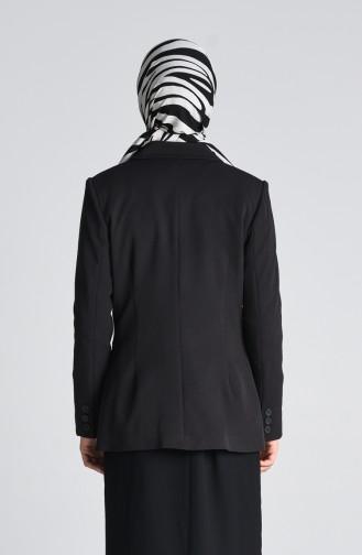 Schwarz Jacke 6481-01