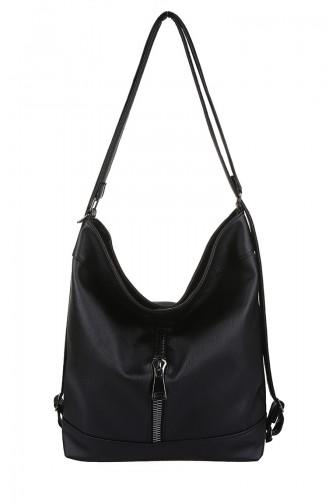 Black Shoulder Bag 403-001