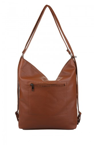 Tobacco Brown Shoulder Bag 403-091