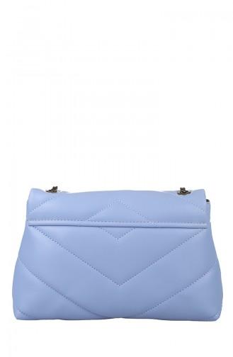 Sac D`épaule Bleu 405-161