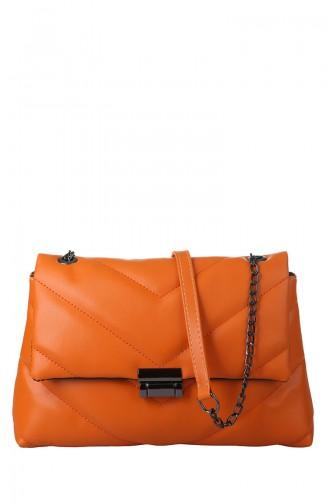 Orange Schultertasche 405-430