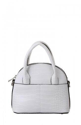 White Shoulder Bag 407-105