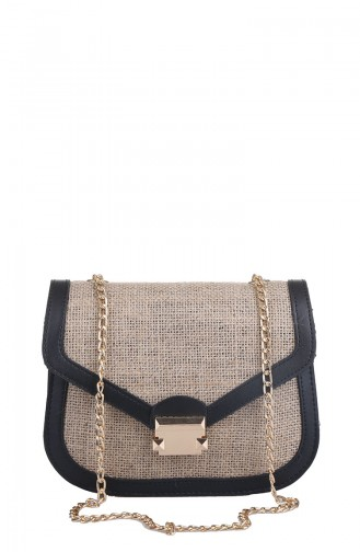 Black Shoulder Bag 408-001