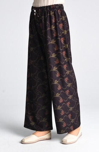 Pantalon Pourpre Foncé 1962-01