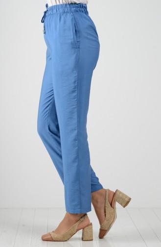 Aerobin Fabric Pocket Trousers 0151a-02 Indigo 0151A-02
