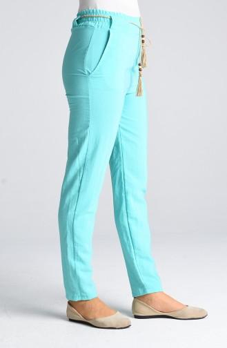 Pantalon Vert menthe 3190-11