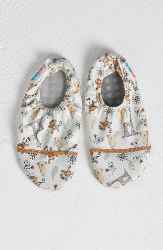 White Pool And Beach Shoes 1000-08