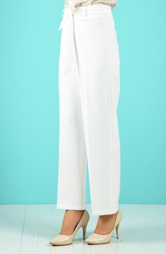 Pantalon Ecru 5010-07