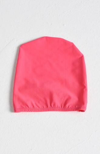 Maillot de Bain Hijab Rose 0111-16