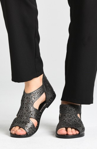 Sandales D`été Platine 0001-04