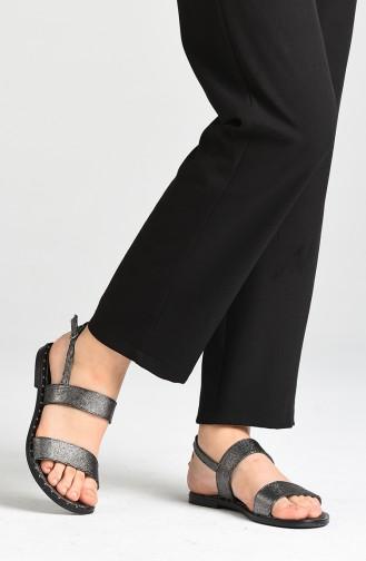 Sandales D`été Platine 0005-07