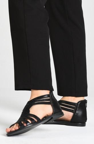 Sandales D`été Noir 0008-02