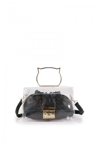 Black Shoulder Bag 55Z-01