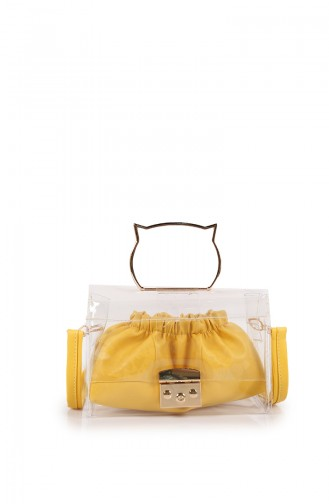 Yellow Shoulder Bag 55Z-03