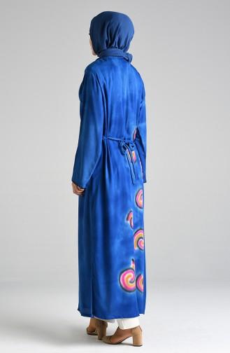 Robe Hijab Blue roi 32205-01