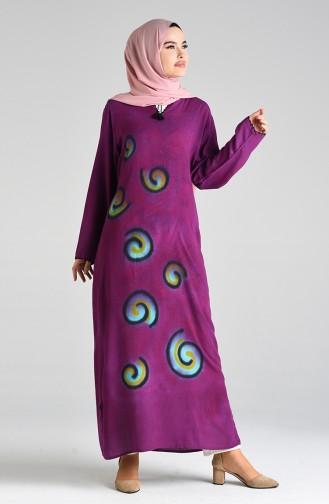 Robe Hijab Plum 32205-02