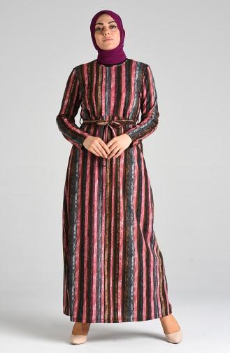 فستان فوشيا 5709C-02