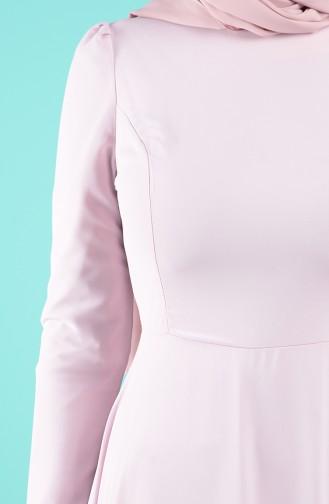 Robe Hijab Poudre 5240-04