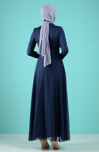 Judge Collar Dress 5240-07 Dark Navy Blue 5240-07