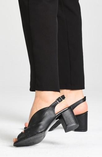 Black High Heels 9053-03