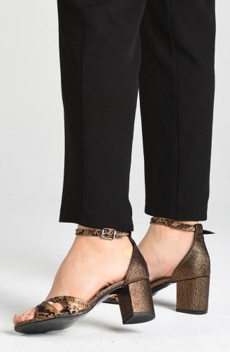 أحذية الكعب العالي نحاس 9110-03
