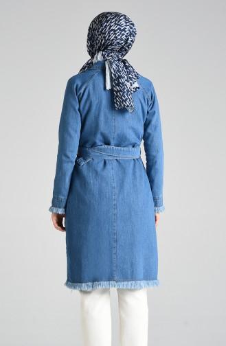 Jeansblau Jacke 6101-01