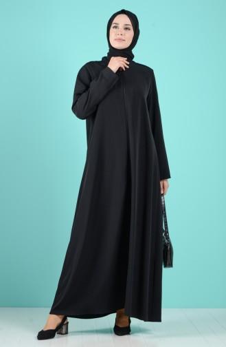 Black Abaya 1085-01