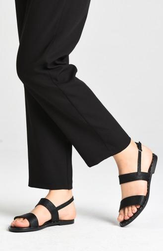 Sandales D`été Noir 0005-06