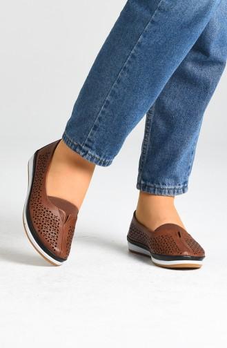 Chaussures de jour Tabac 1560-02