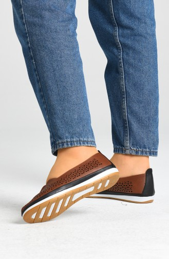 Tobacco Brown Casual Shoes 1560-02