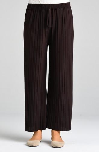 Pantalon Couleur Brun 2014-01