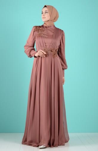 Tabak Hijab-Abendkleider 52780-01